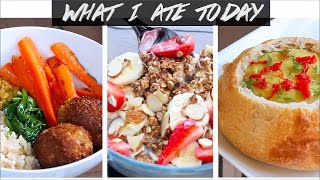 WHAT I ATE TODAY (All Vegan, All Good !)