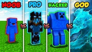 Minecraft NOOB vs. PRO vs. HACKER vs. GOD: WATER MUTANT in Minecraft! (Animation)