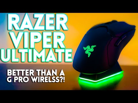 Razer Viper Ultimate Review! Better Than The G Pro Wireless!