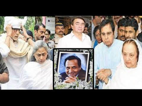 Bollywood Celebs Attend Pran's Prayer Meet