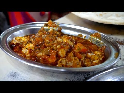 Incredible INDIAN STREET FOOD TOUR in HYDERABAD | Mouthwatering Hyderabadi BIRYANI + Brain Fry