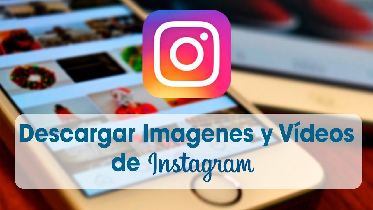 descargar imagenes de instagram sin url