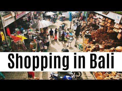 Shopping In Bali | Ubud Market
