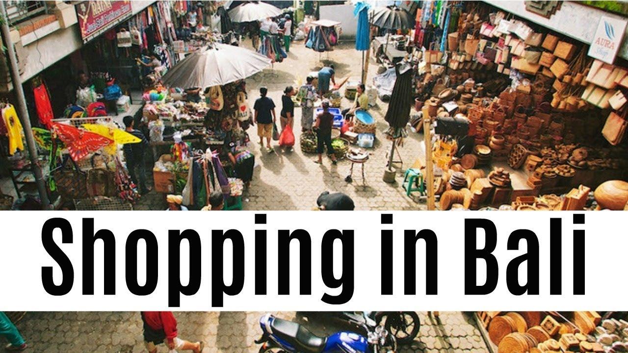 Shopping In Bali Ubud Market Youtube