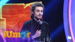 Umor negru pe scena iUmor! Dima Cubreacov, număr de stand up comedy cu glume morbide