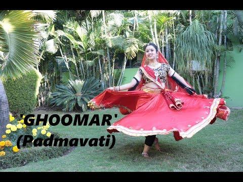 GHOOMAR (padmavati) || DANCE VIDEO || SUKRUTI AIRI