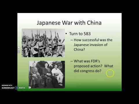 2/20/18 - Japanese Expansion through the Rest of Asia