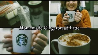 How To Make Starbucks At Home: Gingerbread Latte