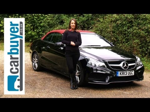 Mercedes E-Class Cabriolet (convertible) 2013 review - CarBuyer