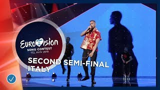 Mahmood - Soldi - Italy - LIVE - Second Semi-Final - Eurovis...