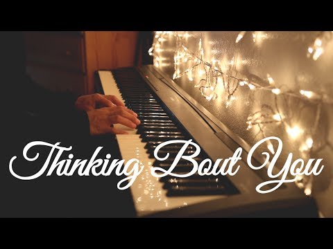 Ariana Grande - Thinking Bout You (Manchester Tribute | Piano)