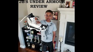 JB4's review for the Under Armour highlights football cleats