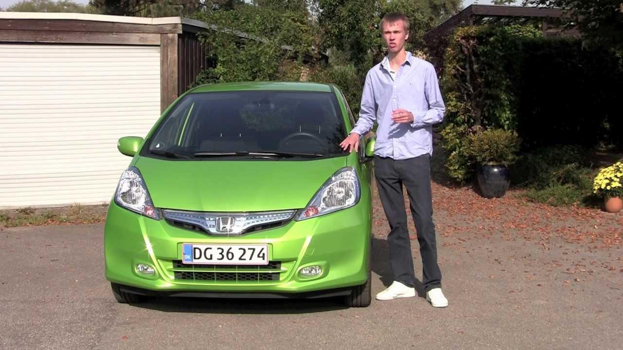 Honda Jazz Hybrid Test Youtube