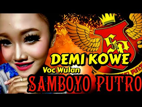 Cover Demi Kowe Voc Wulan Samboyo Putro 2019 Live Kabuh Jombang