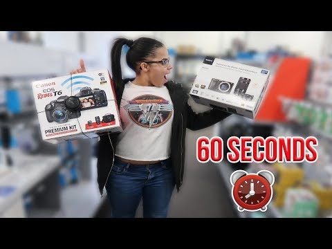 NO BUDGET CHALLENGE IN 60 SECONDS AT BEST BUY!!!*HILARIOUS*