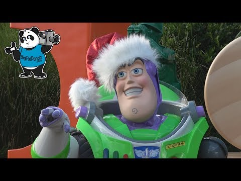 Toy Story Land CHRISTMAS - Disney's Hollywood Studios - Walt Disney World Holiday