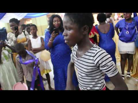 GHANA BEST FEMALE KID DANCER TO AFRO BEAT 2017