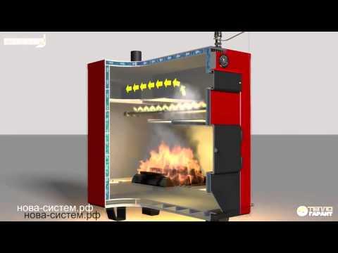 Твердотопливные котлы длительного горения с водяным контуром: особенности, виды и популярные модели