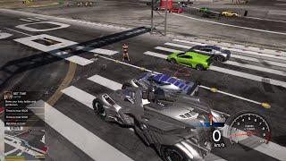 GTA 5 - Lấy Batmobile đem ra sân bay đua xe và phá hoại các xe khác | ND Gaming