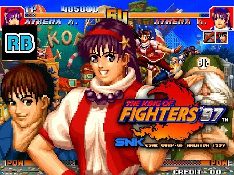 1997 [60fps] The King of Fighters '97 696200pts Psycho Soldier Team ALL