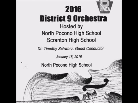 2016 PMEA District 9 Orchestra - Romeo and Juliet: Introduction and Finale