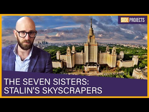 The Seven Sisters: Moscow's Septuplet Skyscrapers that Define Stalinist Architecture