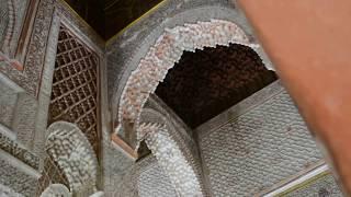 The Saadian tombs, Marrakech - DSC 0536