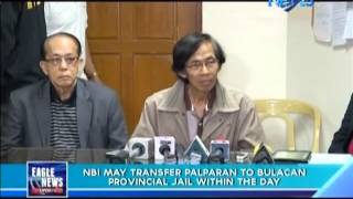 NBI may transfer Palparan to Bulacan provincial jail within the day