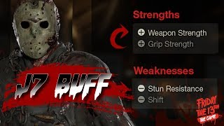 Part 7 BUFF!   New Strengths and Weaknesses   Friday the 13th: The Game