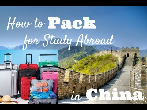 WHAT TO PACK FOR CHINA 2017 | Foreign student in China