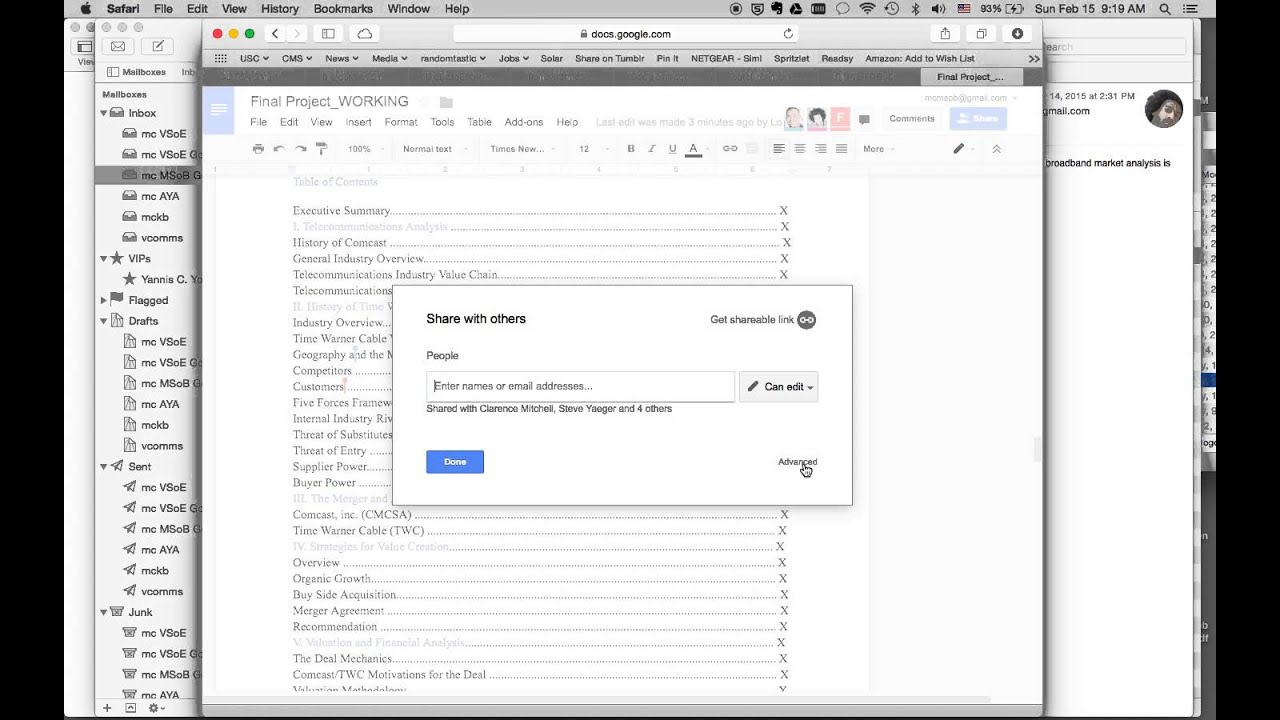 how to unshare google drive