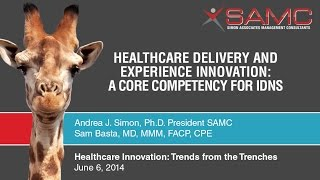 Healthcare Delivery and Experience Innovation: A Core Competency for Integrated Delivery Systems