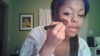 Minnanohime: Gyaru/ toned down Ganguro everyday makeup