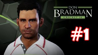 Don Bradman Cricket 14 - Gameplay Walkthrough Part 1 - Overview of Game (Ps3)