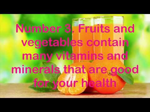 How fruits and vegetables are the key to your health