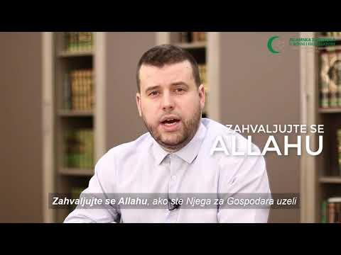 Poziv vjernicima (1) - Zahvalnost - hafiz Ammar Bašić