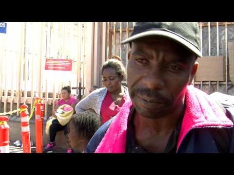 Haitian, African Migrants Stream into Tijuana