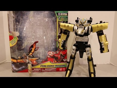Deluxe Ptera Charge Megazord Review [Power Rangers Dino Charge]