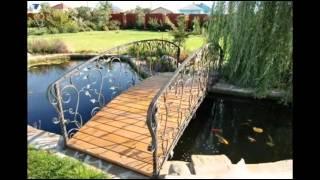 Садовые мостики  Художественная ковка(Кованые мостики прекрасно впишутся в любой ландшафтный дизайн. Такой вариант больше подходит для тех дачн..., 2015-01-24T20:12:58.000Z)