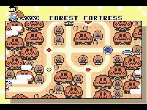 Super Mario World: Super Mario Advance 2 - Complete Map - YouTube