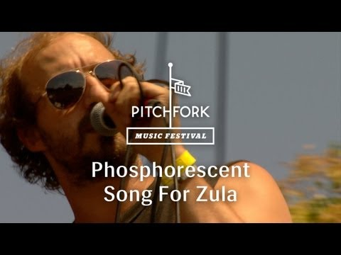 "Phosphorescent - ""Song For Zula"" - Pitchfork Music Festival 2013"