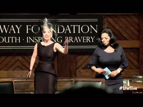 Oprah Winfrey introduces Lady Gaga @ Harvard