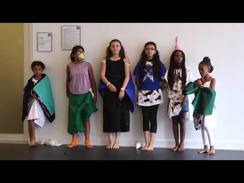 Thinkers and Movers: Workshops for young artists