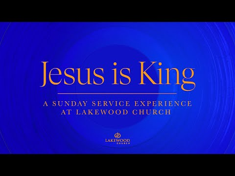"""""""Jesus Is King"""" A Sunday Service Experience at Lakewood Church with Kanye West"""