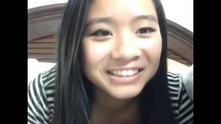 Té cười với cô bé Mỹ gốc Việt, hỏi và đáp của bé Phượng bằng Tiếng Việt