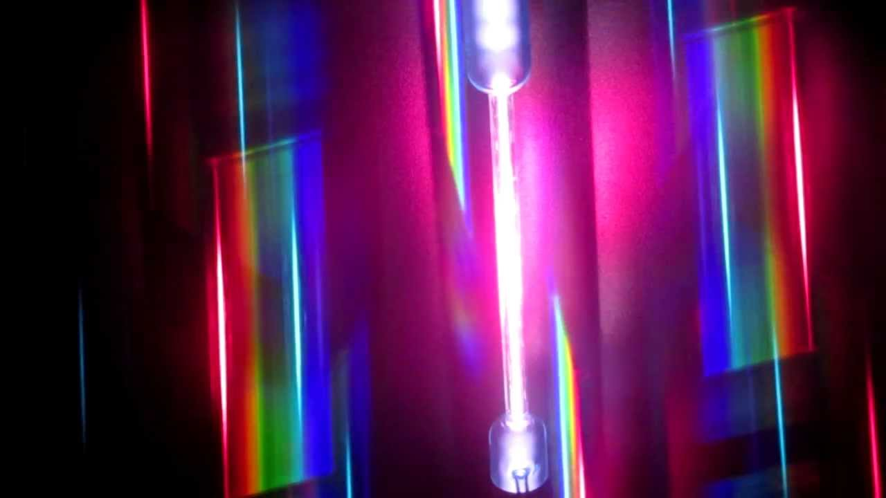 Spectral Lines of Hydrogen, Helium, Mercury Vapor and Neon ...