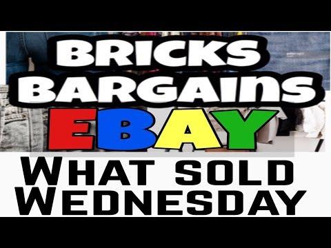 What Sold on Ebay | Weekly Sales of An Online Reseller | Bricks Bargains