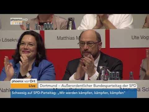 Bundesparteitag der SPD: Rede von Gerhard Schröder am 25.06.2017