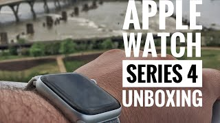 Apple Watch Series 4 Unboxing (Seashell Sport Band)