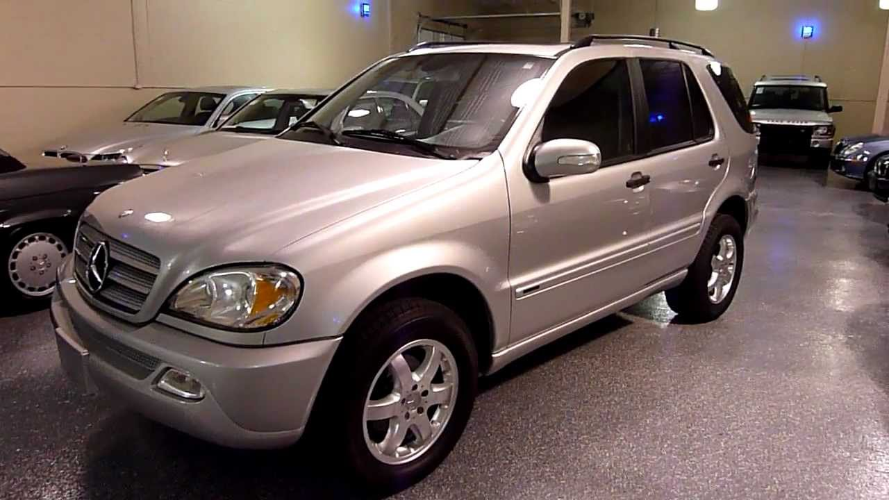 2004 Mercedes Benz Ml350 4matic 4dr 3 5l 2136 Sold